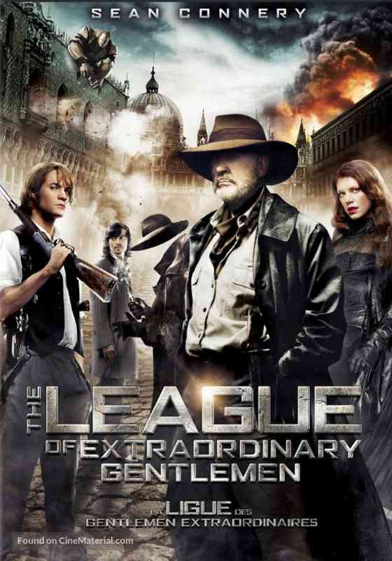 فیلم دوبله: انجمن نجیب زادگان عجیب (2003) The League of Extraordinary Gentlemen