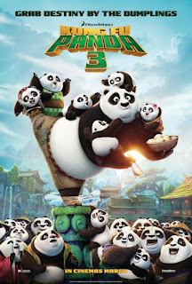 Kung Fu Panda 3 2016 movie Poster