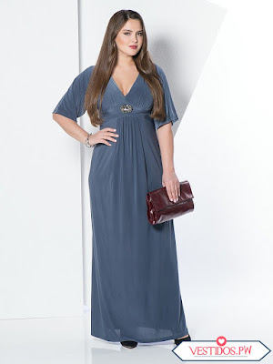 vestidos para gorditas elegantes