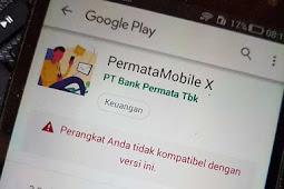 Penyebab Tidak Bisa Instal Aplikasi Permata Mobile X