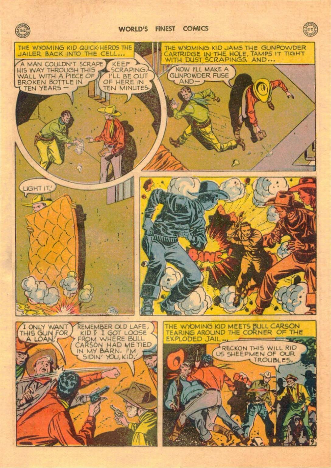 Read online World's Finest Comics comic -  Issue #42 - 45