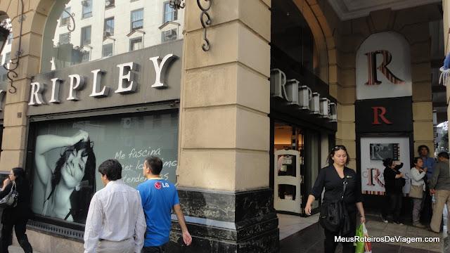 Loja de departamentos Ripley - Santiago, Chile