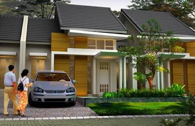 Contoh Desain Rumah Minimalis 1 Lantai Type 45