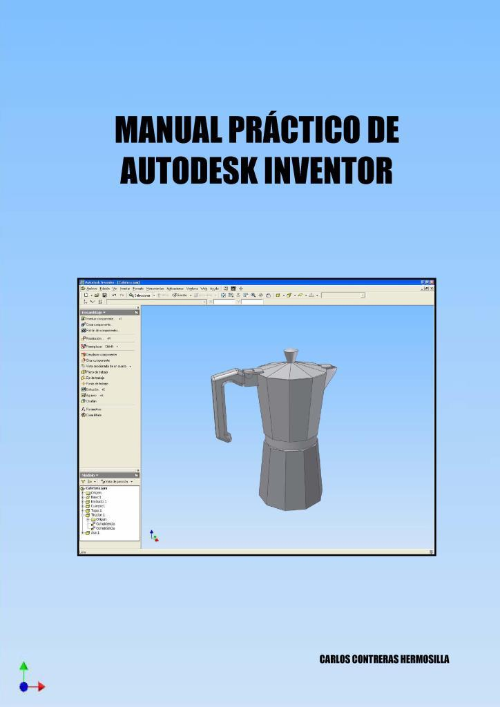 Manual práctico de Autodesk Inventor