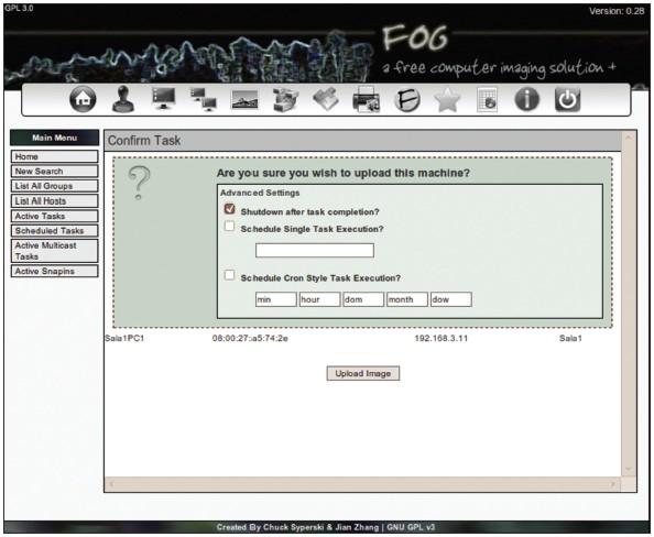 Clonación automática de equipos con FOG   Jhonatan