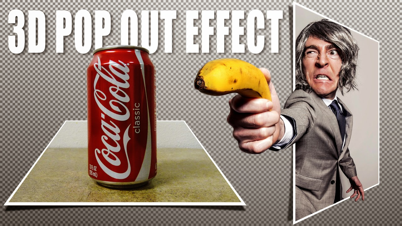 Free photoshop tutorials how to make a 3d pop out effect photoshop tutorial baditri Choice Image