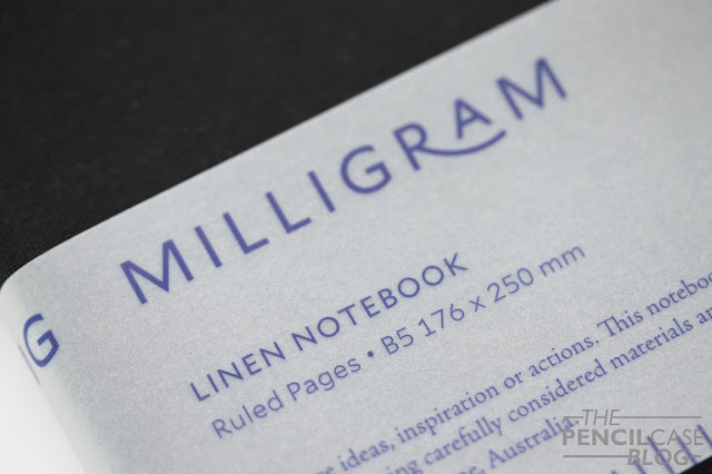 Milligram Studio Linen notebook review