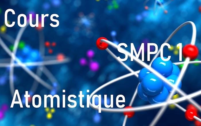 Cours Atomistique filière SMPC S1 PDF