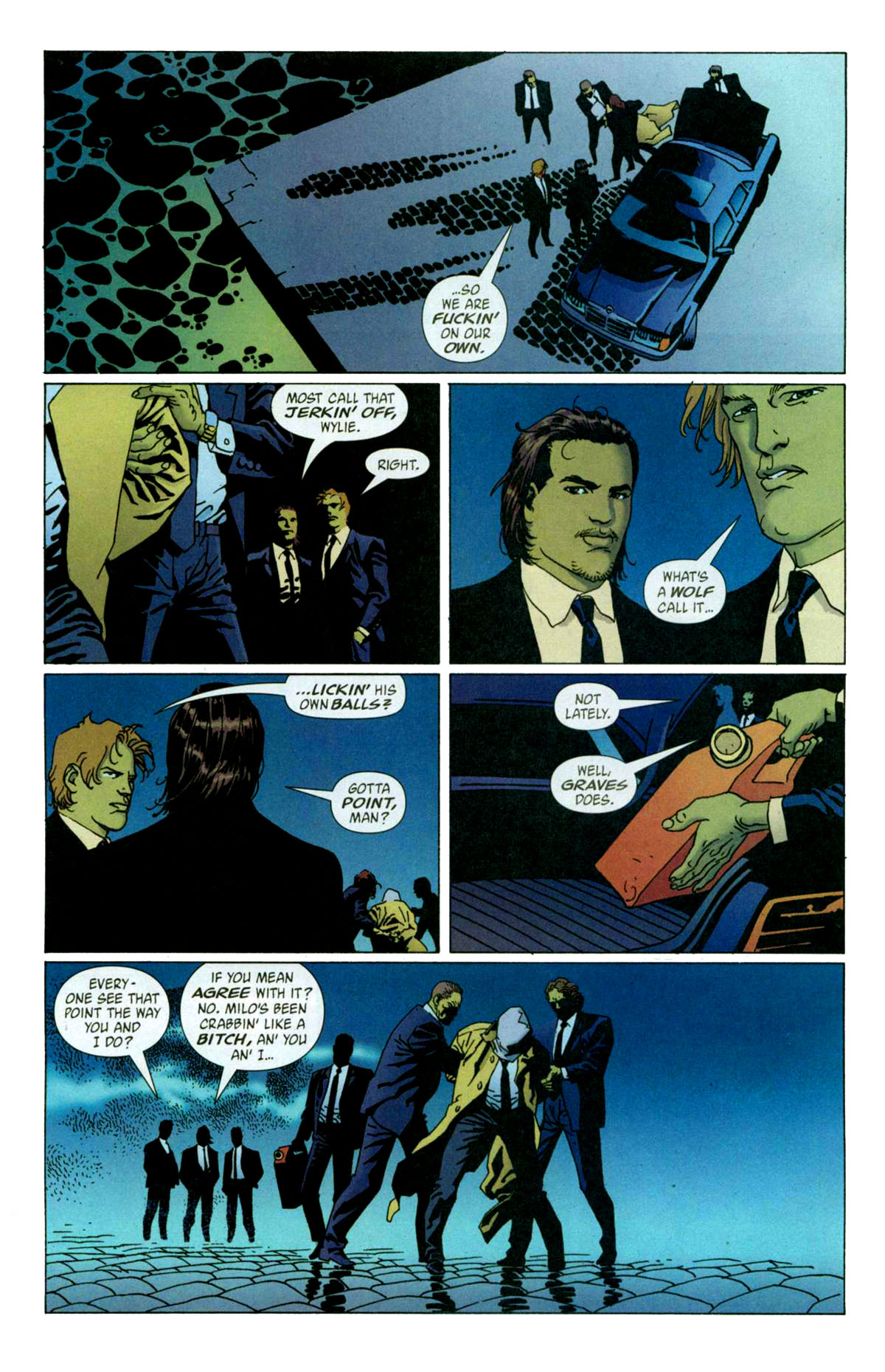 Read online 100 Bullets comic -  Issue #56 - 5