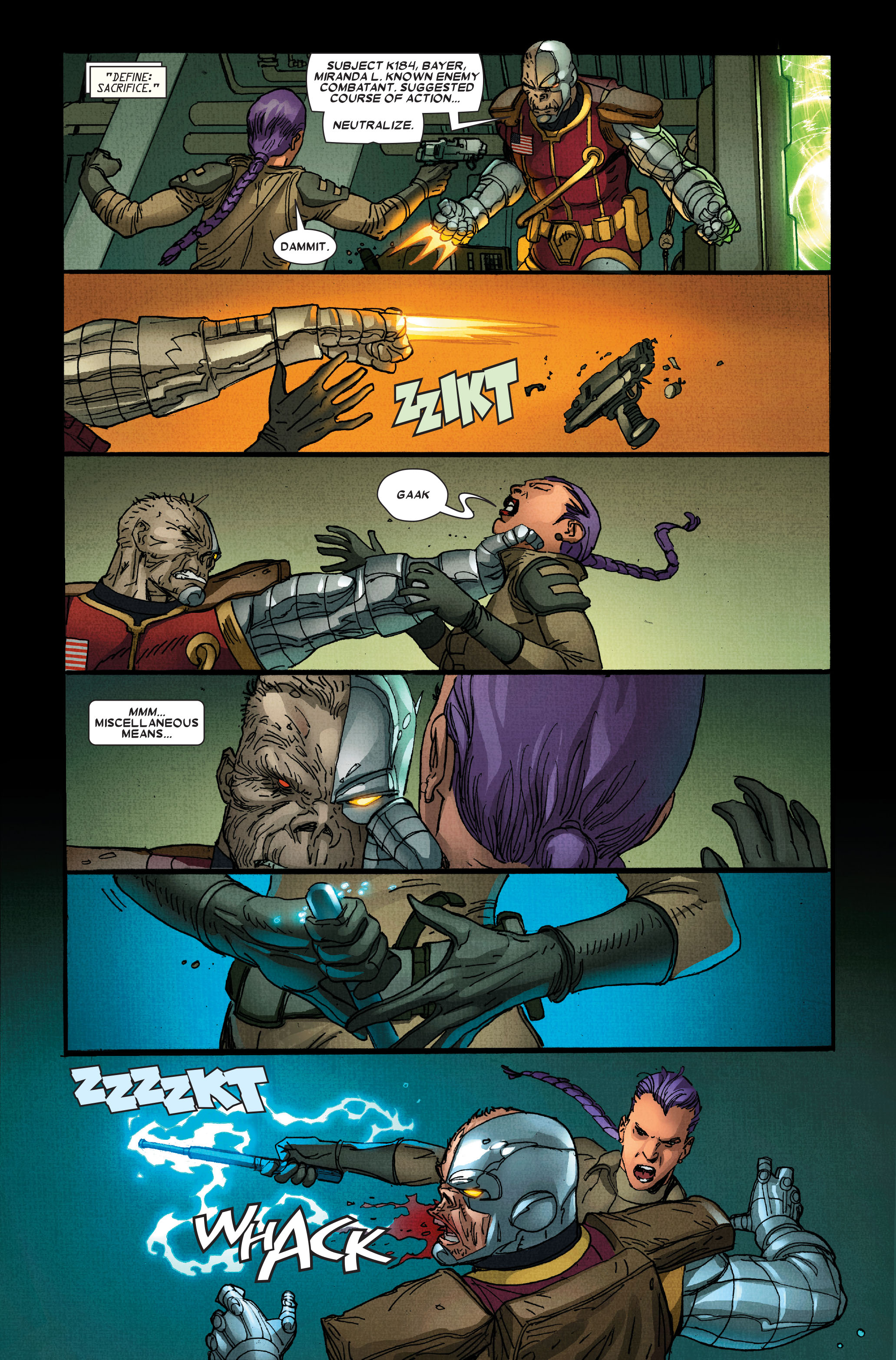 Read online Wolverine: Weapon X comic -  Issue #15 - 9