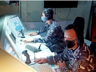 Prajurit KRI Diponegoro-365 Gelar Latihan Peran Tempur dan Peran Penyelamatan Kapal