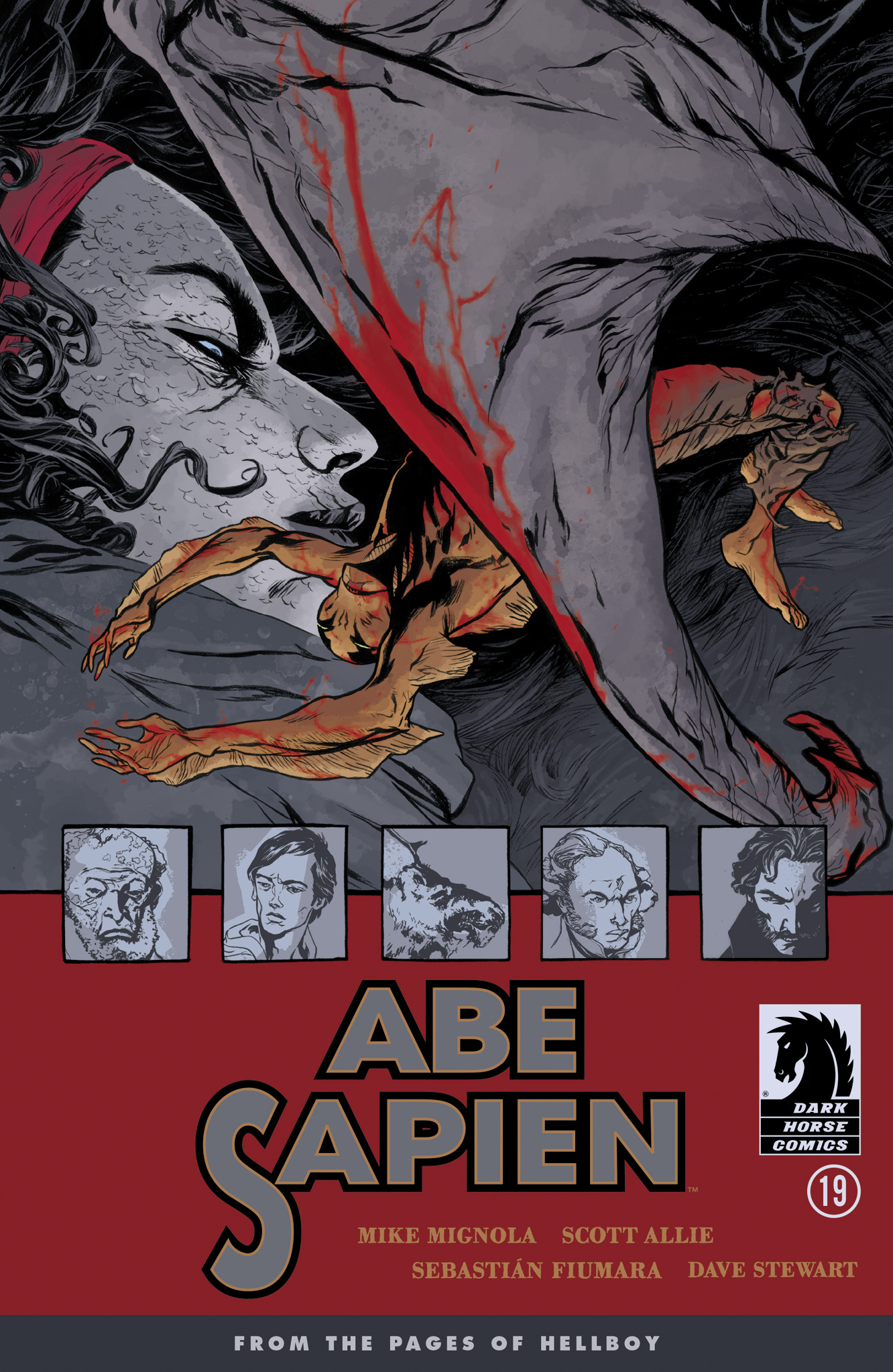 Read online Abe Sapien comic -  Issue #19 - 1