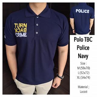 Jual Kaos Polo Turn Back Crime Jakarta