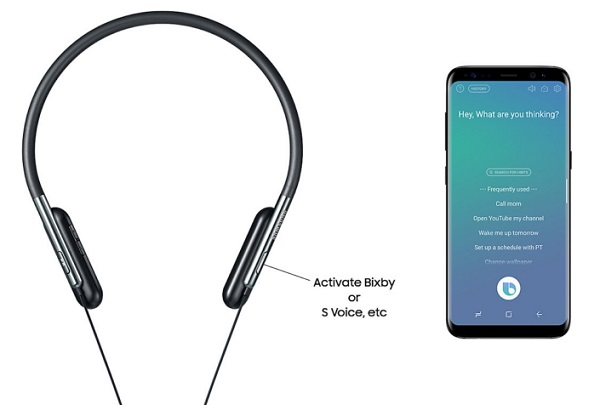SAMSUNG U Flex headphones announced with Bixby integration