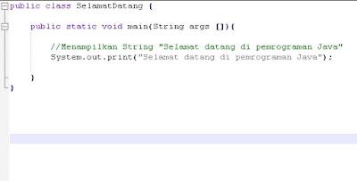 Belajar Pemrograman Java Untuk Pemula Dari Dasar