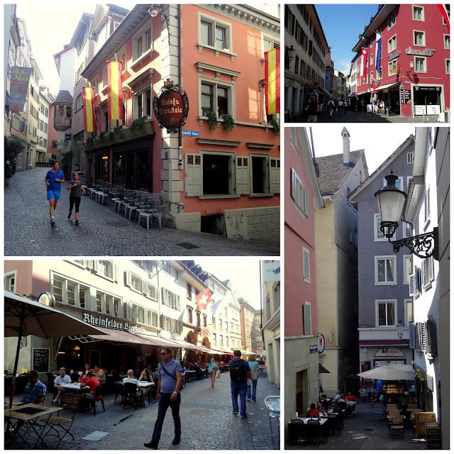 Niederdorfstrasse Zurich Old Town