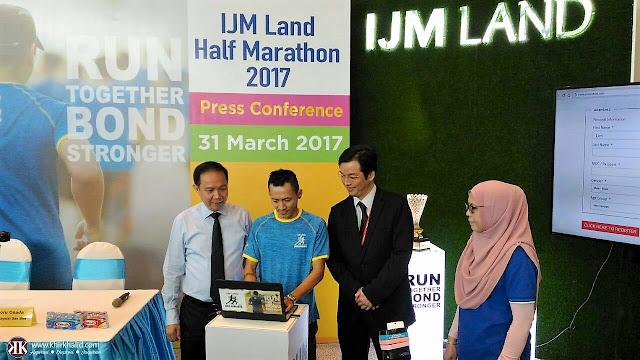 IJM Land Half Marathon 2017,