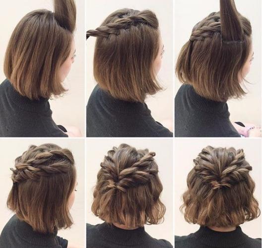 Paso nº 6.,Coloca fijador de cabello para que el peinado dure más tiempo.