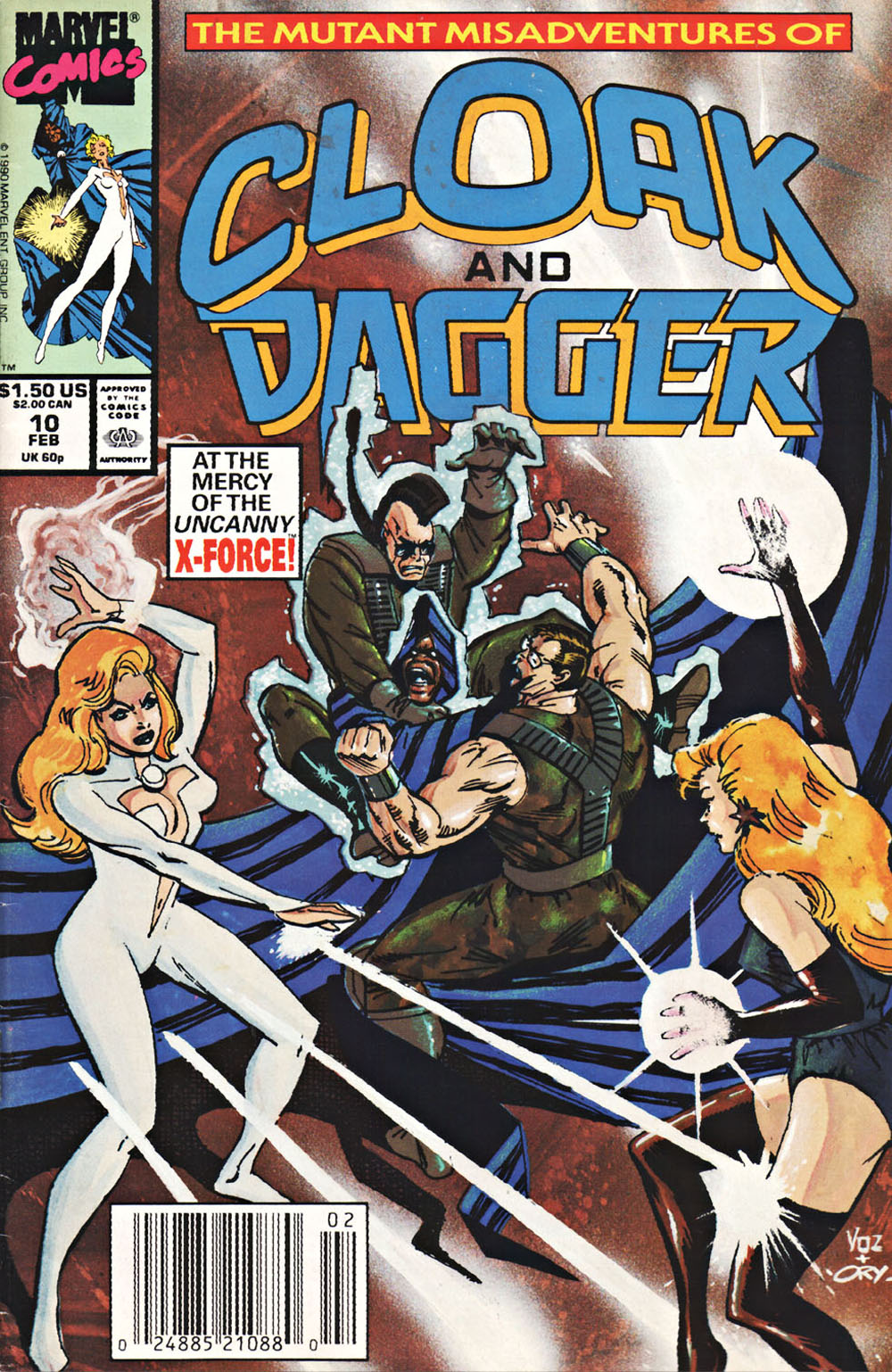 Cloak and Dagger (1990) 10 Page 1