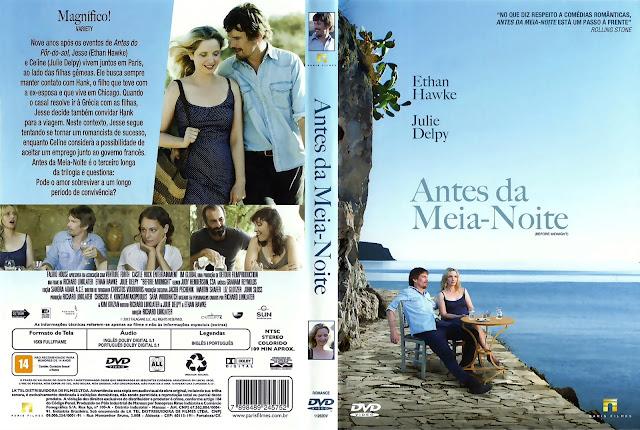 Capa DVD Antes da Meia-Noite