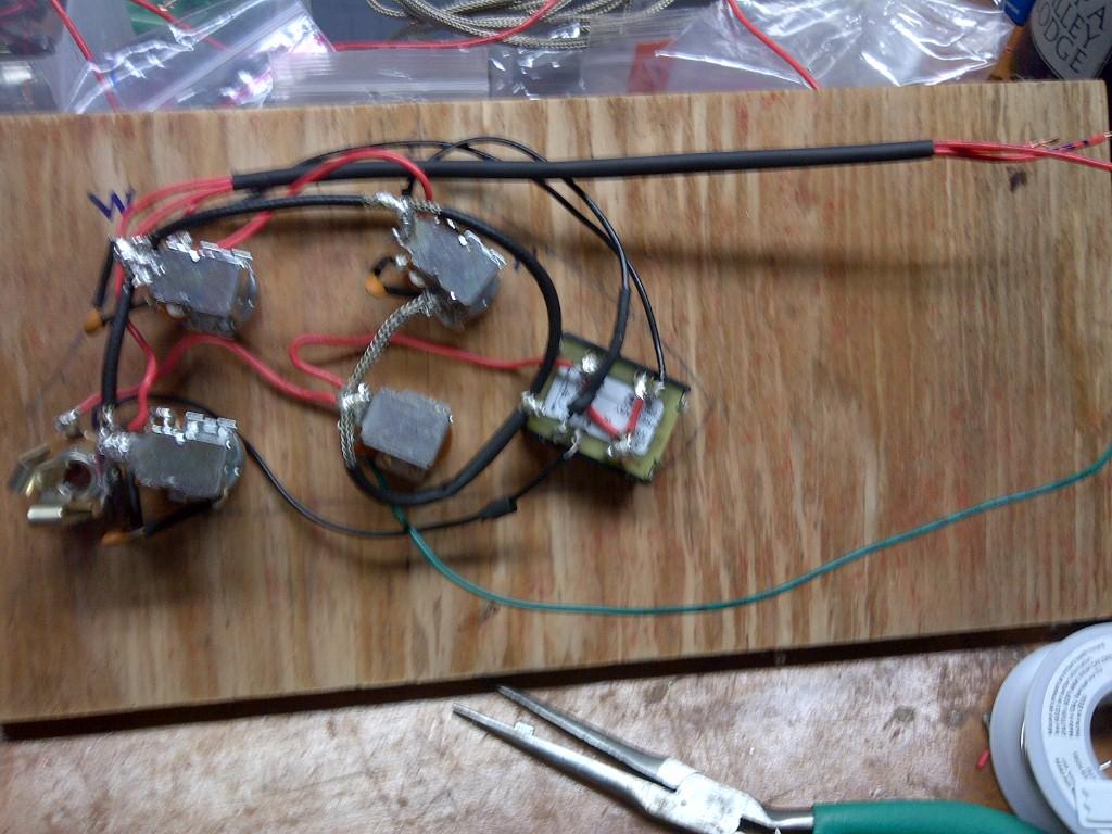 Coil Dimarzio Wiring Tap