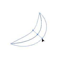 ลองวาดเส้นโดยใช้ Line Tool จากนั้นก็ใช้ Width Tool ลากเส้นให้มันกว้างขึ้น