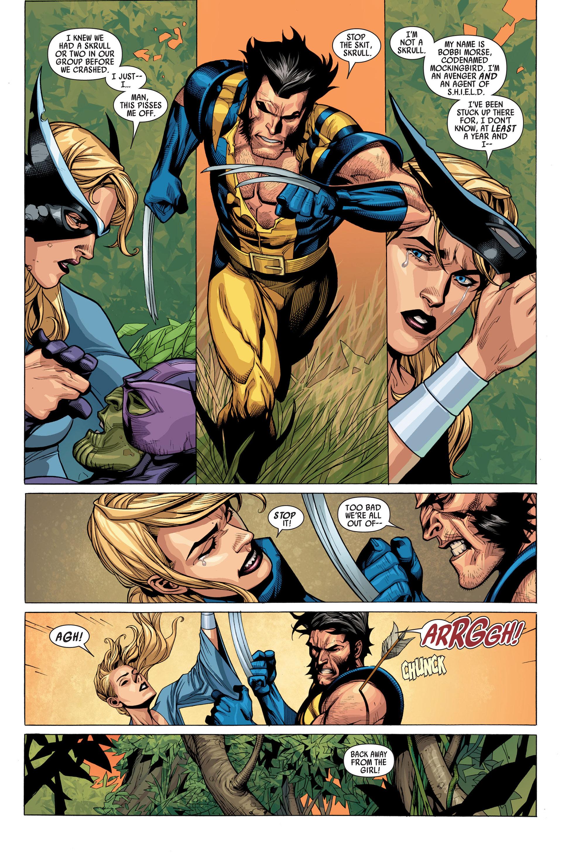 Read online Secret Invasion comic -  Issue #2 - 14