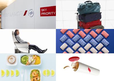 Trải nghiệm hạng ghế phổ thông cao cấp của Air France