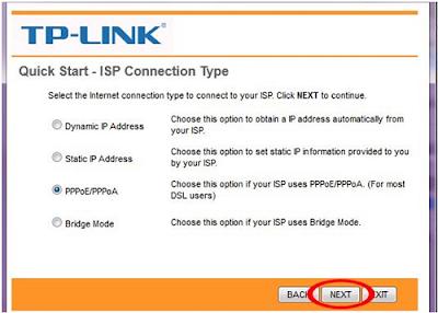 Cara Seting Modem TP-LINK, Modem Telkom Speedy (3)