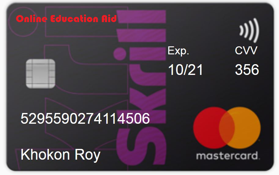 What is the Skrill Virtual Prepaid Mastercard® and how can I