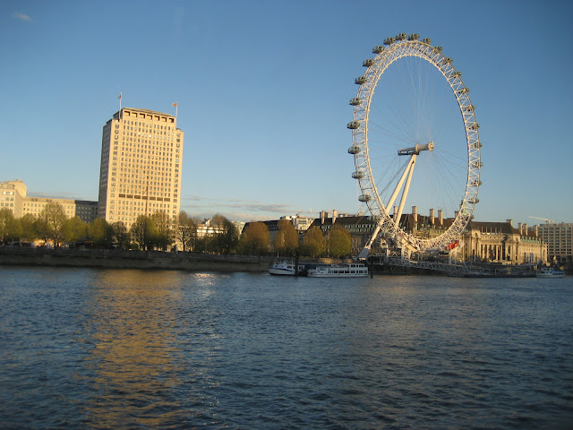 View London Eye Hispaniola restaurant