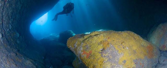 Buceo en la Isleta del Moro, Cabo de Gata