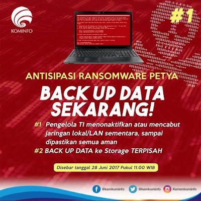 Setelah WannaCry, muncul Petya. Bagaimana langkah antisipatif ...