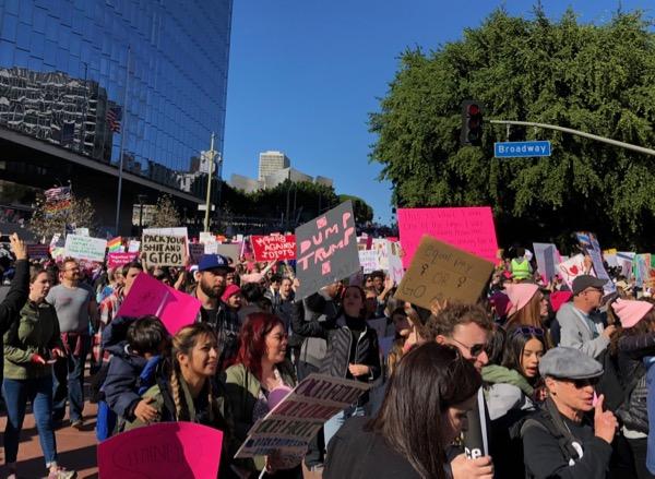Womens March DTLA 2018