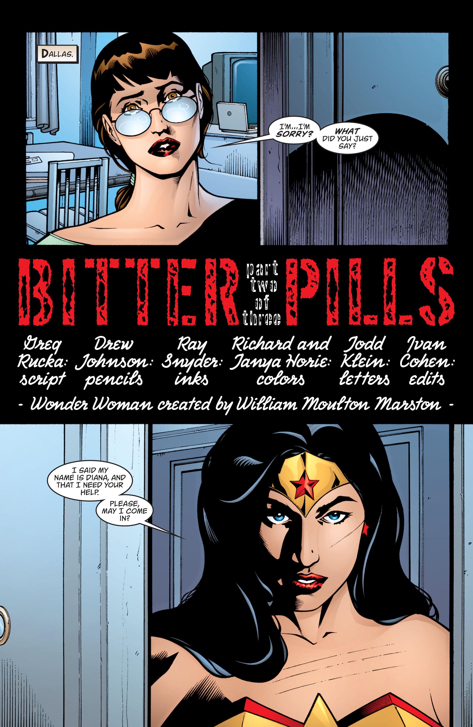 Read online Wonder Woman (1987) comic -  Issue #204 - 2