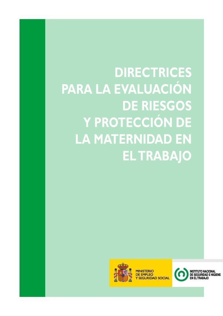 Evaluación de riesgos y protección de la maternidad en el trabajo