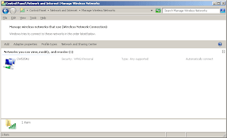 Backup Wireless Network Settings Windows 7