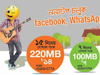 Banglalink social pack offers