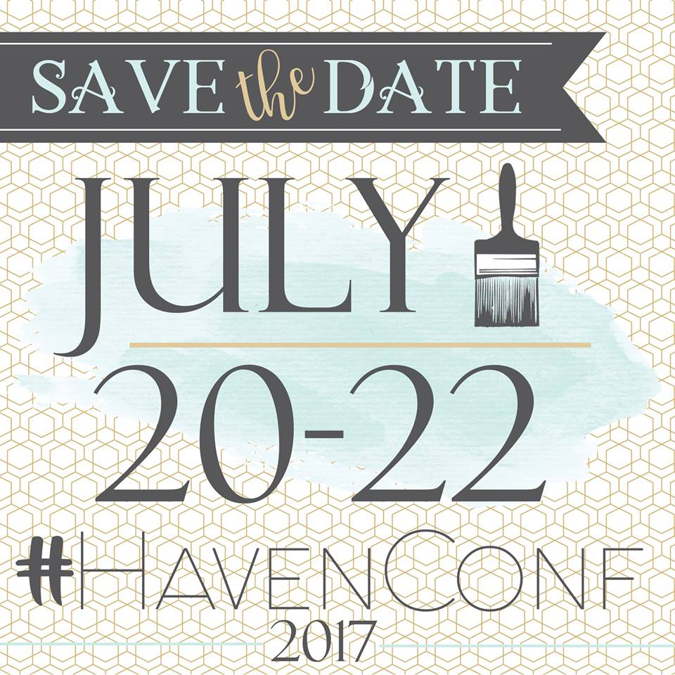 Join me at Haven Conference