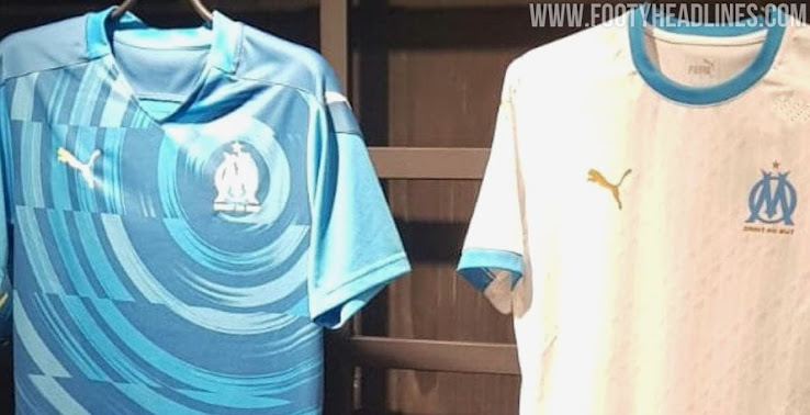Olympique Marseille 20-21 Domicile, Extérieur et Troisième Kits Fuit - Euro 2020