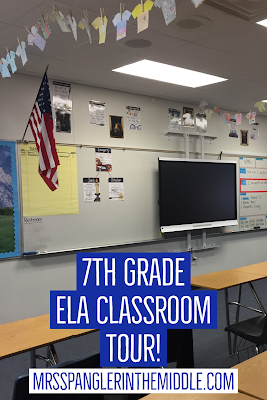 A peek at a 7th grade ELA Classroom with a Harry Potter theme!