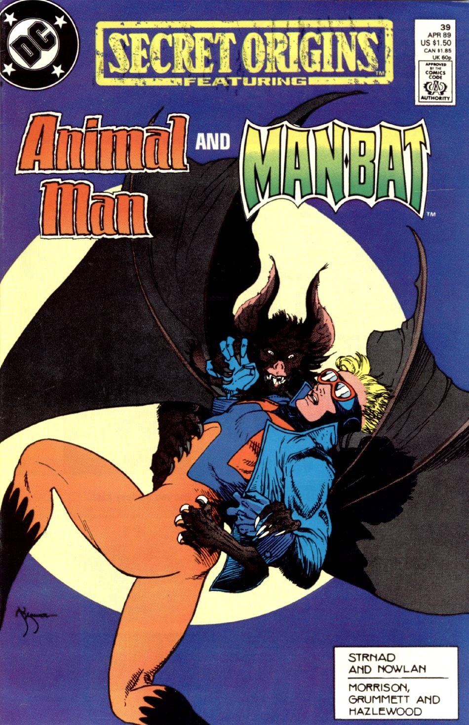 Read online Secret Origins (1986) comic -  Issue #39 - 1