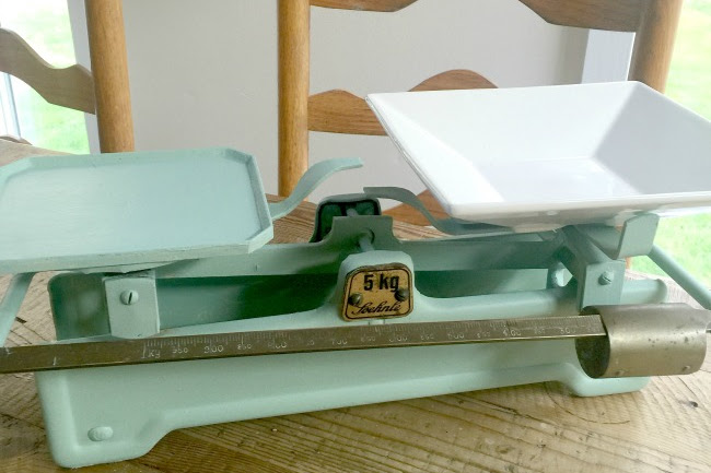 A Refurbished Vintage Scale