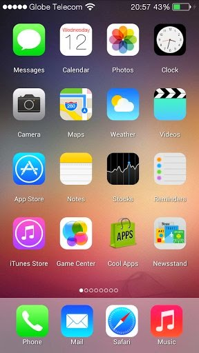 App To Change Wallpaper Automatically Iphone Ios 7 Launcher 1 0 Apk Android Apps