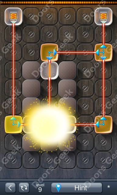 Solution for Laser Box - Puzzle (Classic) Level 9