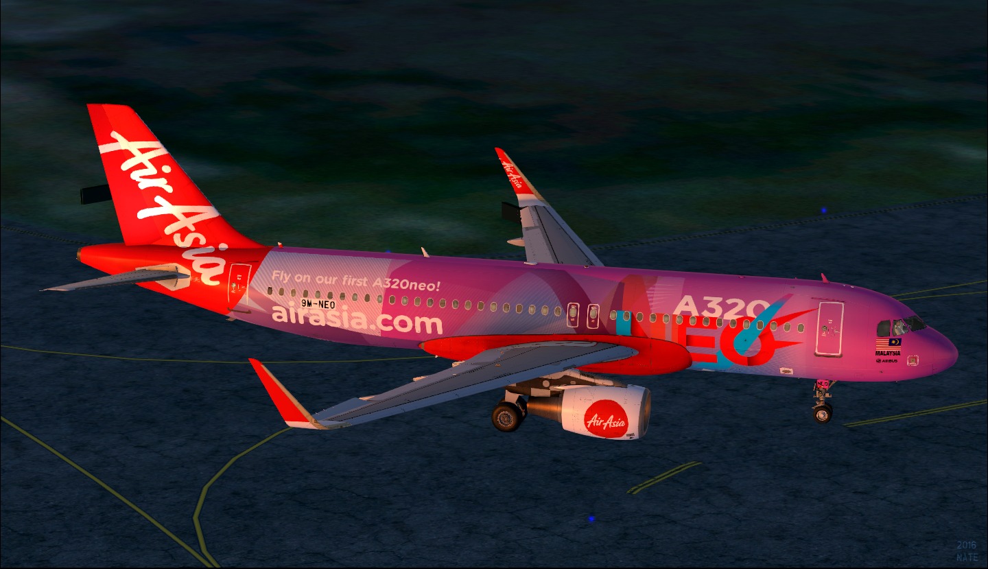 Airbus A320-251n(SL) / AirAsia / 9M-NEO (Fly On Our First A320NEO c