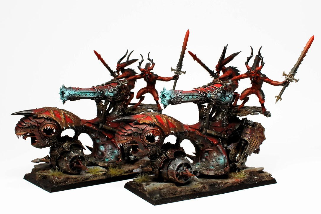 Chaos Daemons K Black Paint Scheme