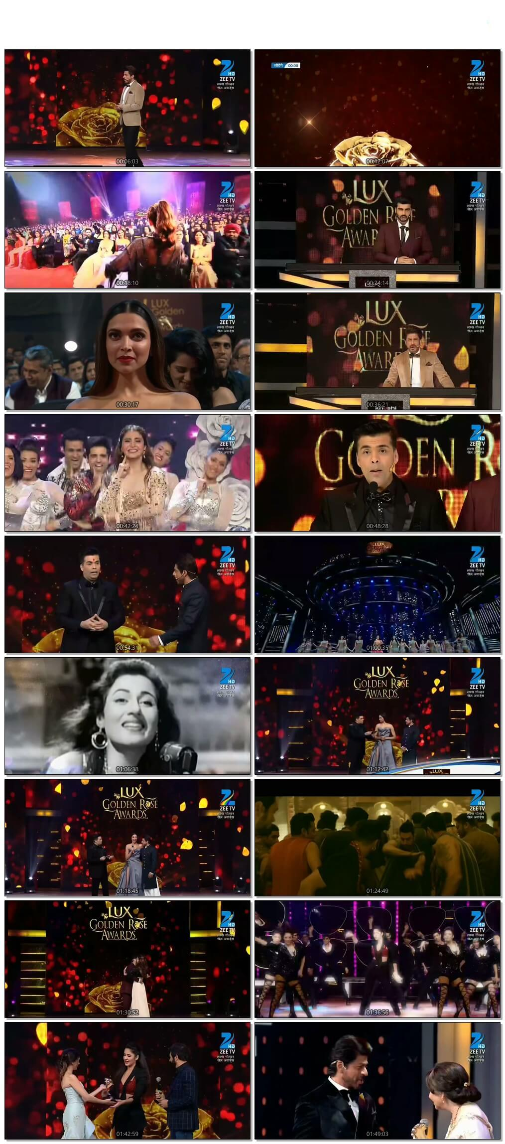 Screen Shot LUX Golden Rose Awards 2016 Full Show Download Free HDTV 720P 600MB HD