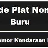 Kode Plat Nomor Kendaraan Buru - Maluku