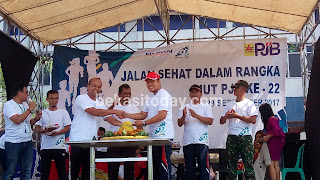 Peringati HUT ke-22, PJB UP Muara Tawar Lakukan Giat Jalan Sehat